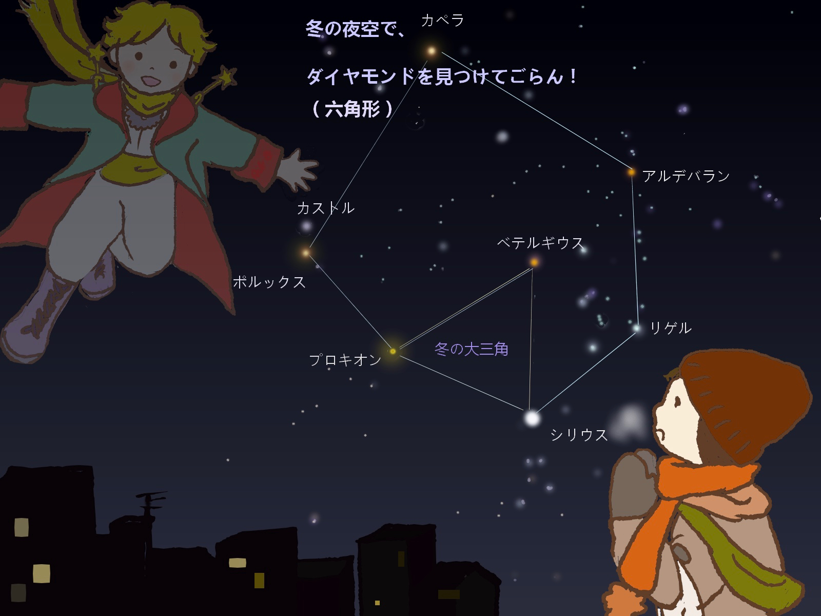 の 星座 冬